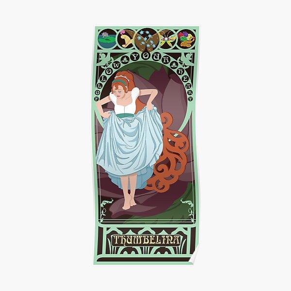 Thumbelina Nouveau - Thumbelina Poster