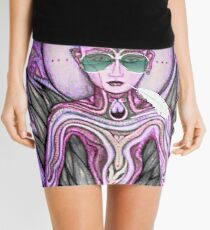 Love Bhudda Mini Skirt