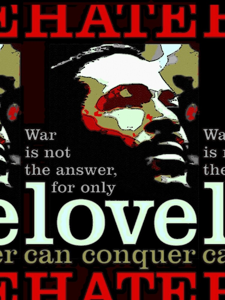 Marvin Says Love Can Conquer Hate by DroidAKov