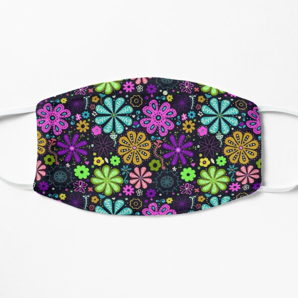 Flower Power Flat Mask