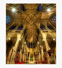 St Patrick's Cathedral - New York  Photographic Print