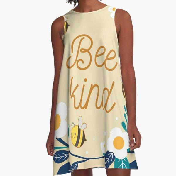 bee kind A-Line Dress