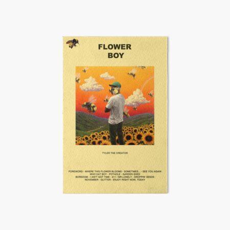 FLOWER-BOY Art Board Print
