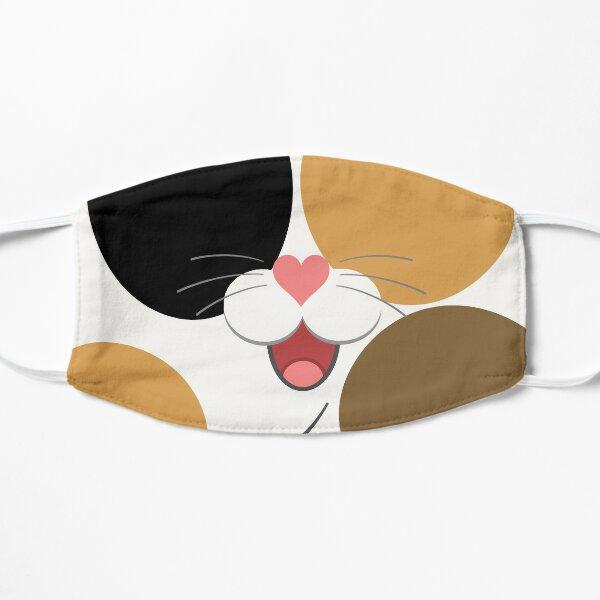 calico cat cartoon mask Mask