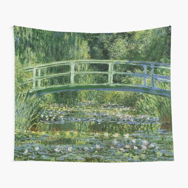 Water Lilies and the Japanese bridge - Claude Monet Tapestry