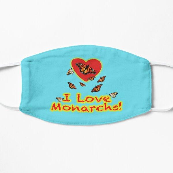 I Love Monarchs Face Mask Mask