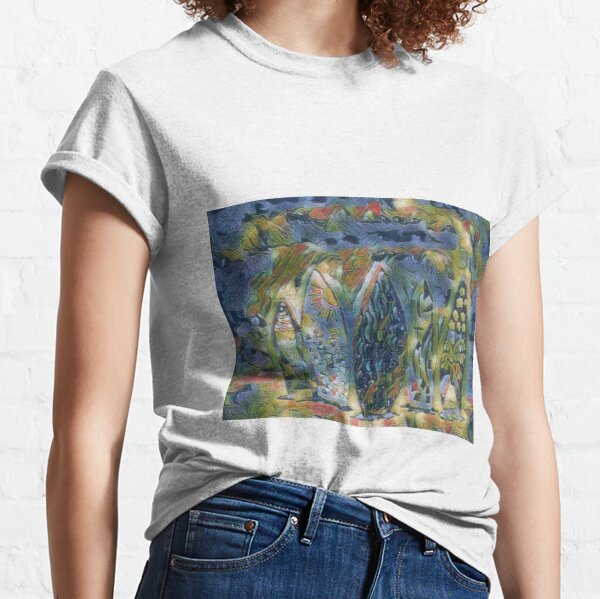 Surf Boards 6 designed and created by (c) Janet Watson Art xx Classic T-Shirt