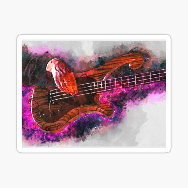Les Claypool's bass guitar Sticker