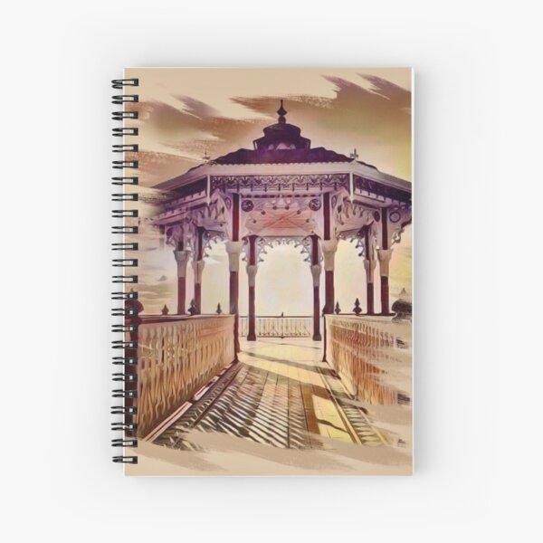 Brighton Bandstand Spiral Notebook