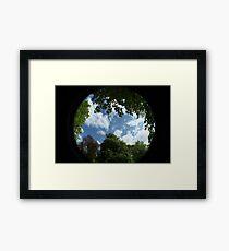 Planet Hearth  Framed Print