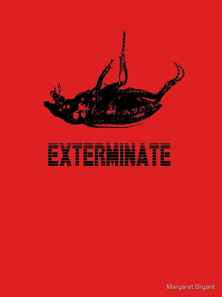 Exterminate T-shirt/Hoodie black by twynklebat