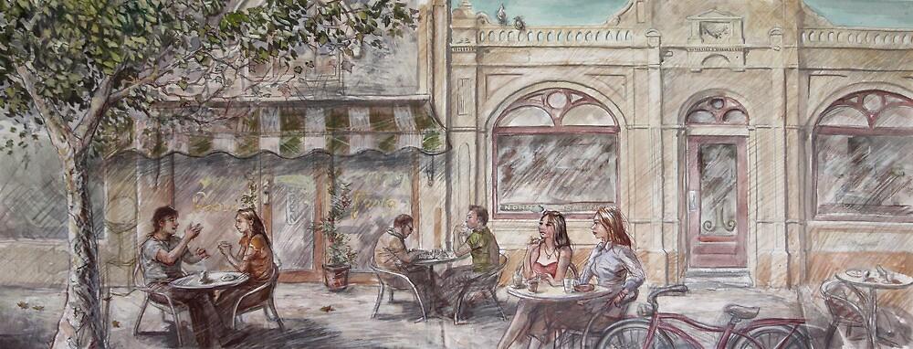 Cafe Scene by Coldtown