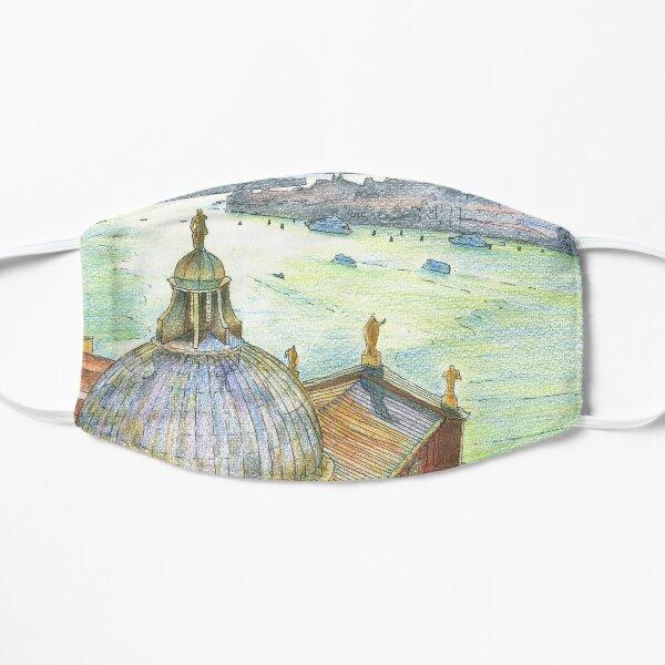 VENICE. View to Grand Canal from Basilica Di San Giorgio Maggiore.  Mask
