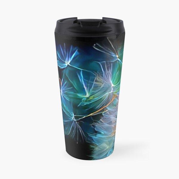 Dandelion Blowing in the Wind Travel Mug