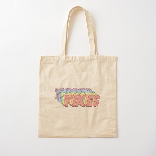 YIKES Cotton Tote Bag