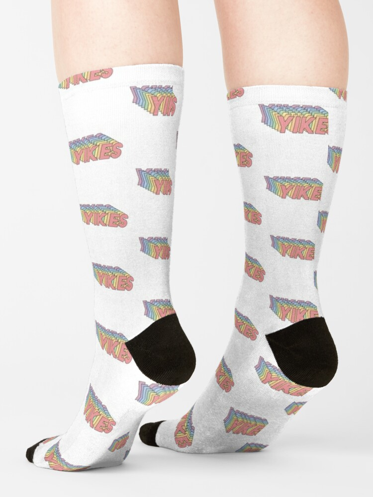 Alternate view of YIKES Socks