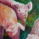 Swine Shadows by Lora Garcelon