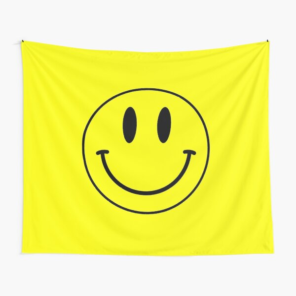 Acid House Smile Face Tapestry