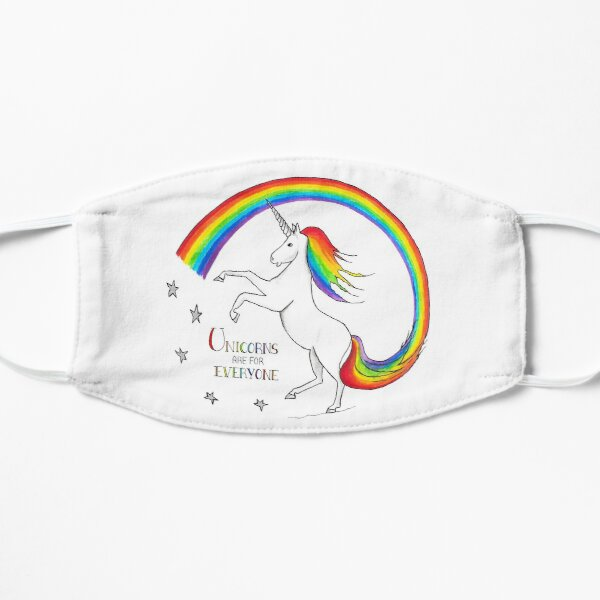 Unicorns are for Everyone Mask