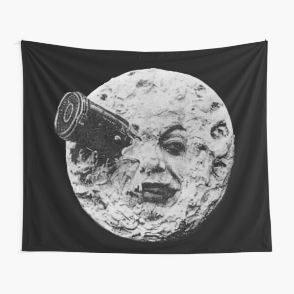 EARLY CINEMA. A Trip to the Moon. By Georges Melies. 1902. Tapestry