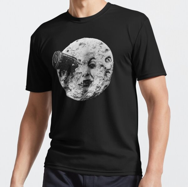 EARLY CINEMA, A Trip to the Moon. By Georges Melies. 1902. Active T-Shirt