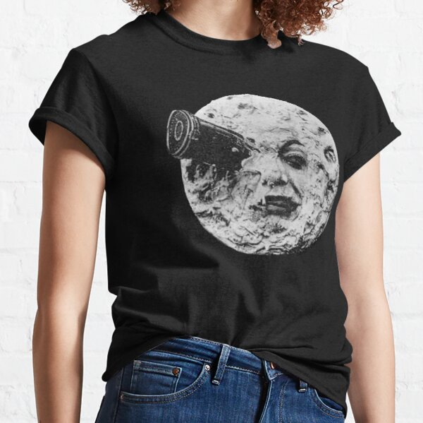 EARLY CINEMA. A Trip to the Moon. By Georges Melies. 1902. Classic T-Shirt
