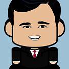 Ricky John Politico'bot Toy Robot 1.0 by Carbon-Fibre Media