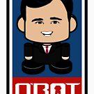 Ricky John Politico'bot Toy Robot 2.0 by Carbon-Fibre Media