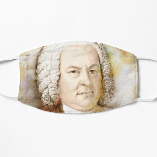 Johann Sebastian Bach im Aquarell Stil Maske