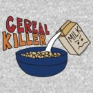 Cereal Killer, Funny Breakfast Food Shirt by CuteNComfy
