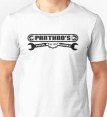 Pantrho's Parts and Service (black) Unisex T-Shirt