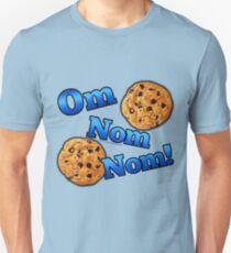 Om Nom Nom, Yummy Cookies Unisex T-Shirt