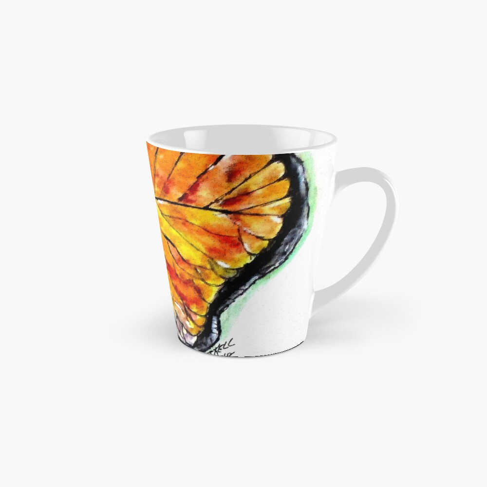Glass Butterfly Digitally Enhanced Mug