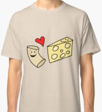 Cute Macaroni and Cheese Love Classic T-Shirt