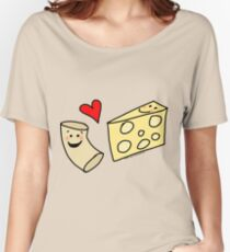 Cute Macaroni and Cheese Love Women's Relaxed Fit T-Shirt