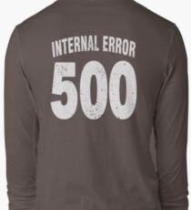 Team shirt - 500 Internal Error, white letters T-Shirt