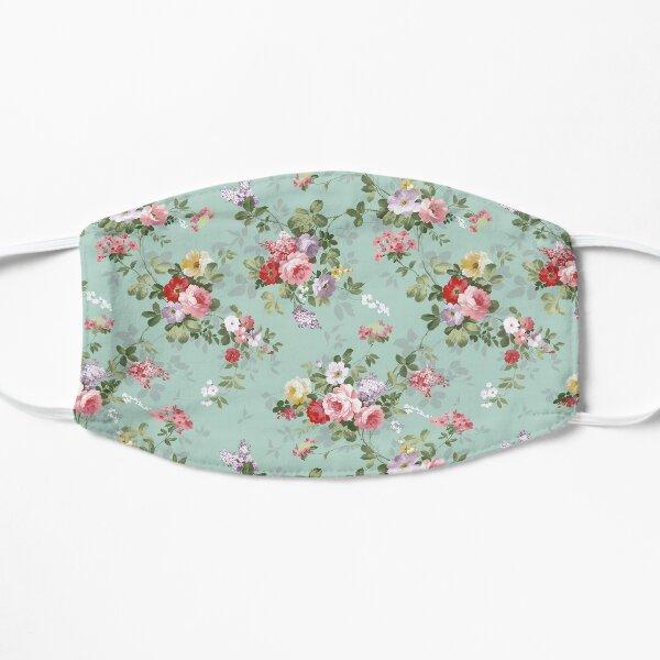 Chic elegant pink roses beautiful flowers pattern Flat Mask