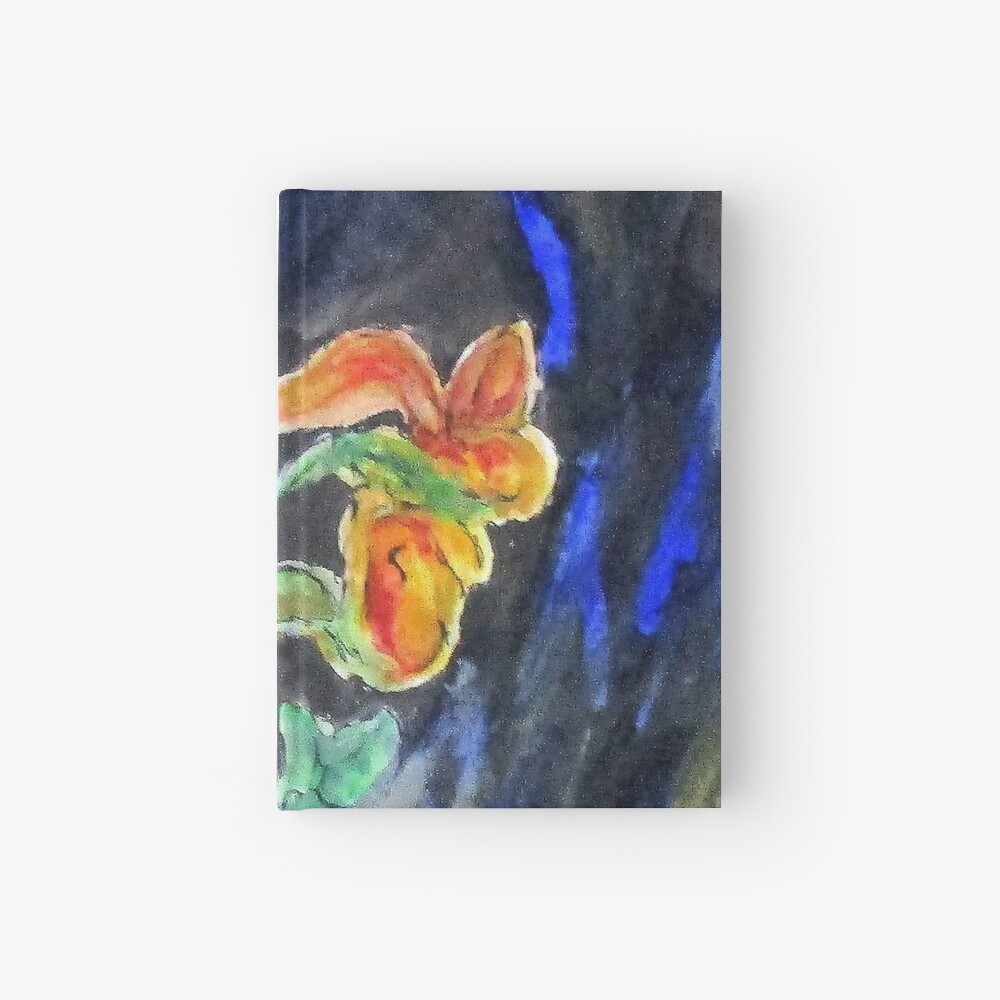 Flowers Of Glass Hardcover Journal