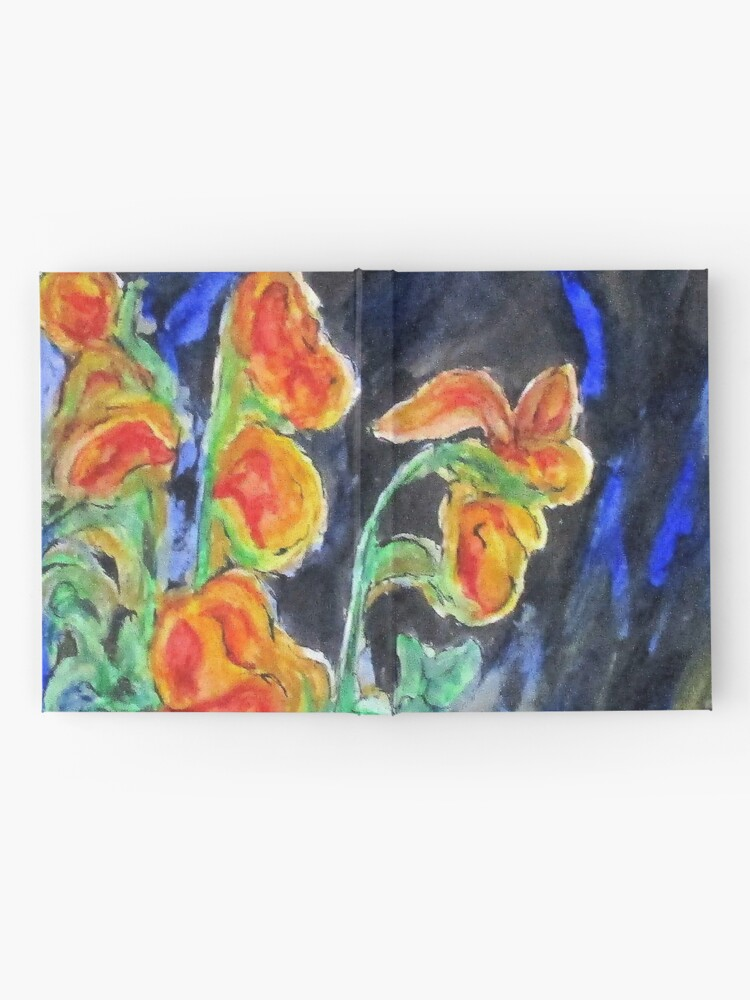 Alternate view of Flowers Of Glass Hardcover Journal