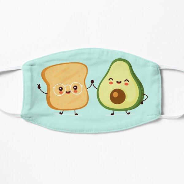 Avocado Toast Flat Mask