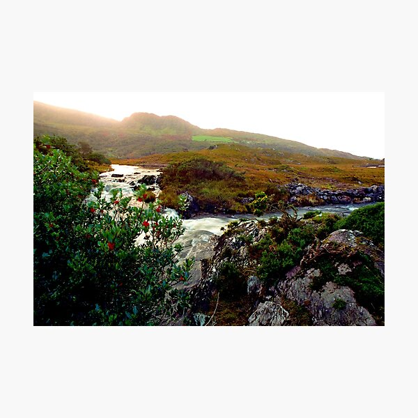 The remote valley of Gleninchaquin on the Beara Peninsula Photographic Print
