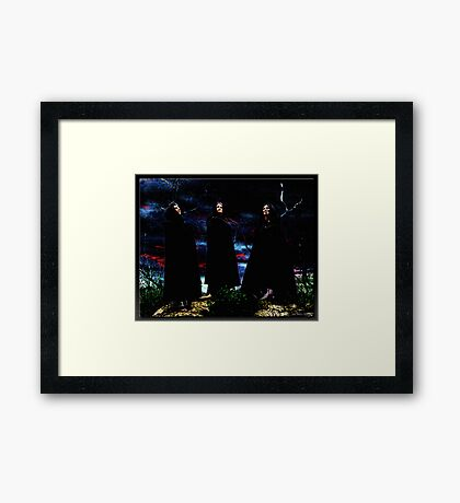 The Witches Framed Print