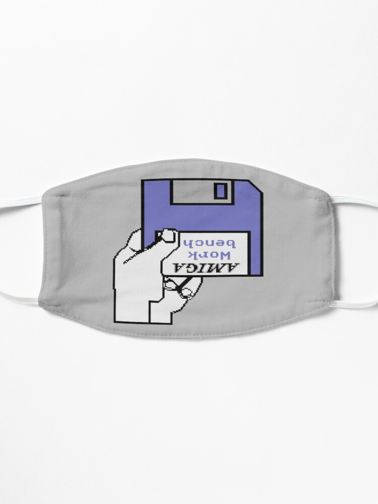 Alternate view of Amiga Computer Work Bench Disk Welcome Mask