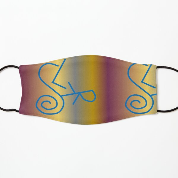 Sigil for Clarity of Purpose Kids Mask