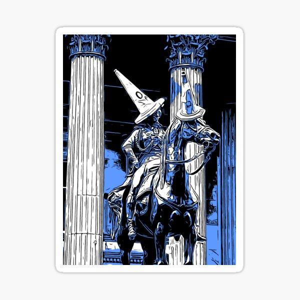 Duke of Wellington statue in Glasgow  Sticker