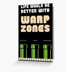 warp zone  Greeting Card