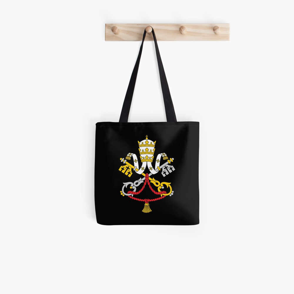 One Holy Catholic Church - Black Tote Bag