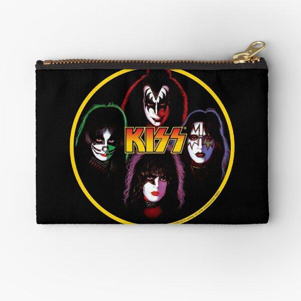 Kiss Band Rock Stars Zipper Pouch