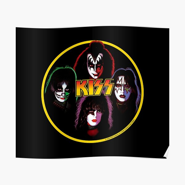 Kiss Band Rock Stars Poster