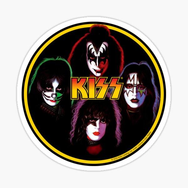 Kiss Band Rock Stars Pegatina